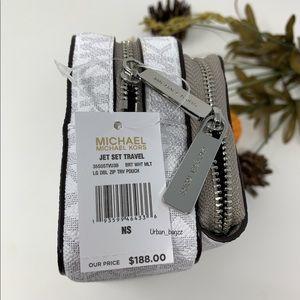 Michael Kors Bags - Michael Kors JST Large Double Zip Travel Pouch